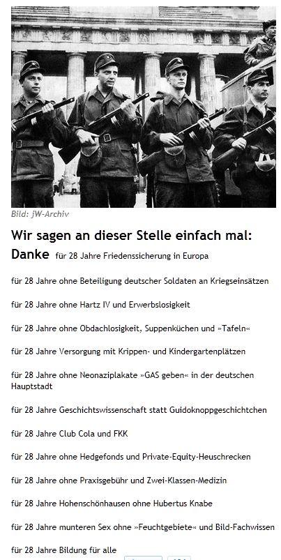 DDR-Betriebskampftruppe am Brandenburger Tor