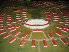 Modell der Anlage