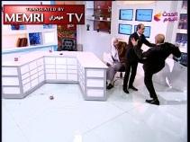 memri: Schlaegerei im arabischen TV-Studio