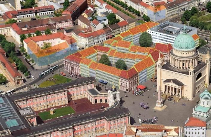 Bebauung Alter Markt Potsdam