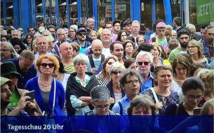 Muslim Demo Köln