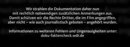 WDR-Warnhinweis