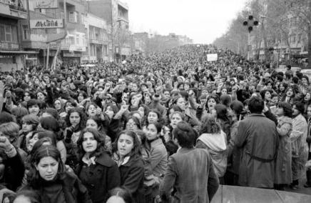Protest gegen Schleier