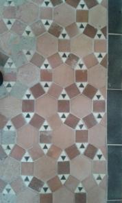 Mosaik-Fußboden