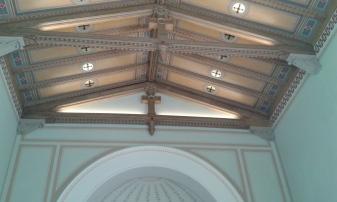 Decke der Trauerhalle