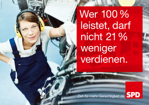 SPD gender paygap