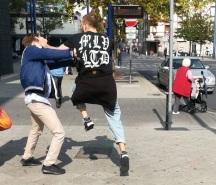 antifa-schläger