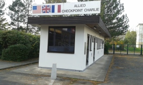 Kontrollbaracke Checkpoint Charlie