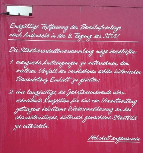 Stadtverordnetenbeschluss Potsdam