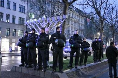 chanukka polizei