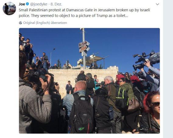 Jerusalem-protest
