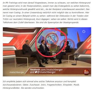 Maischberger-Choreographie