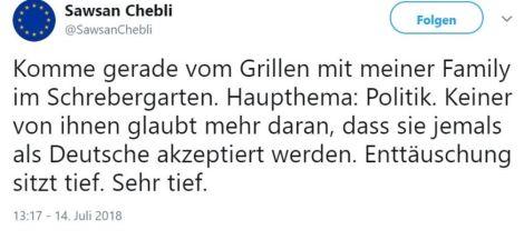 Chebli-deutsch sein