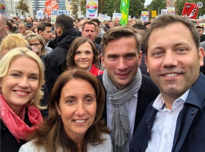 chemnitz SPD feiert